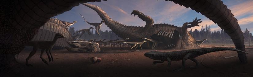 Archosaurian Dawn (8bit)
