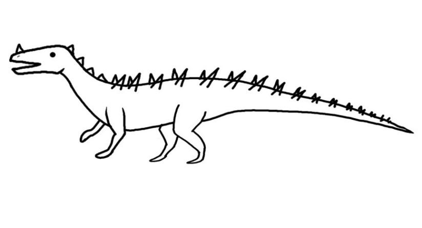 Short legged archosaur